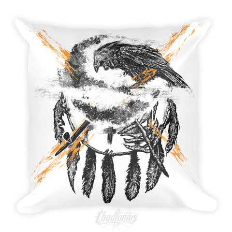 THE CROW - Square Pillow