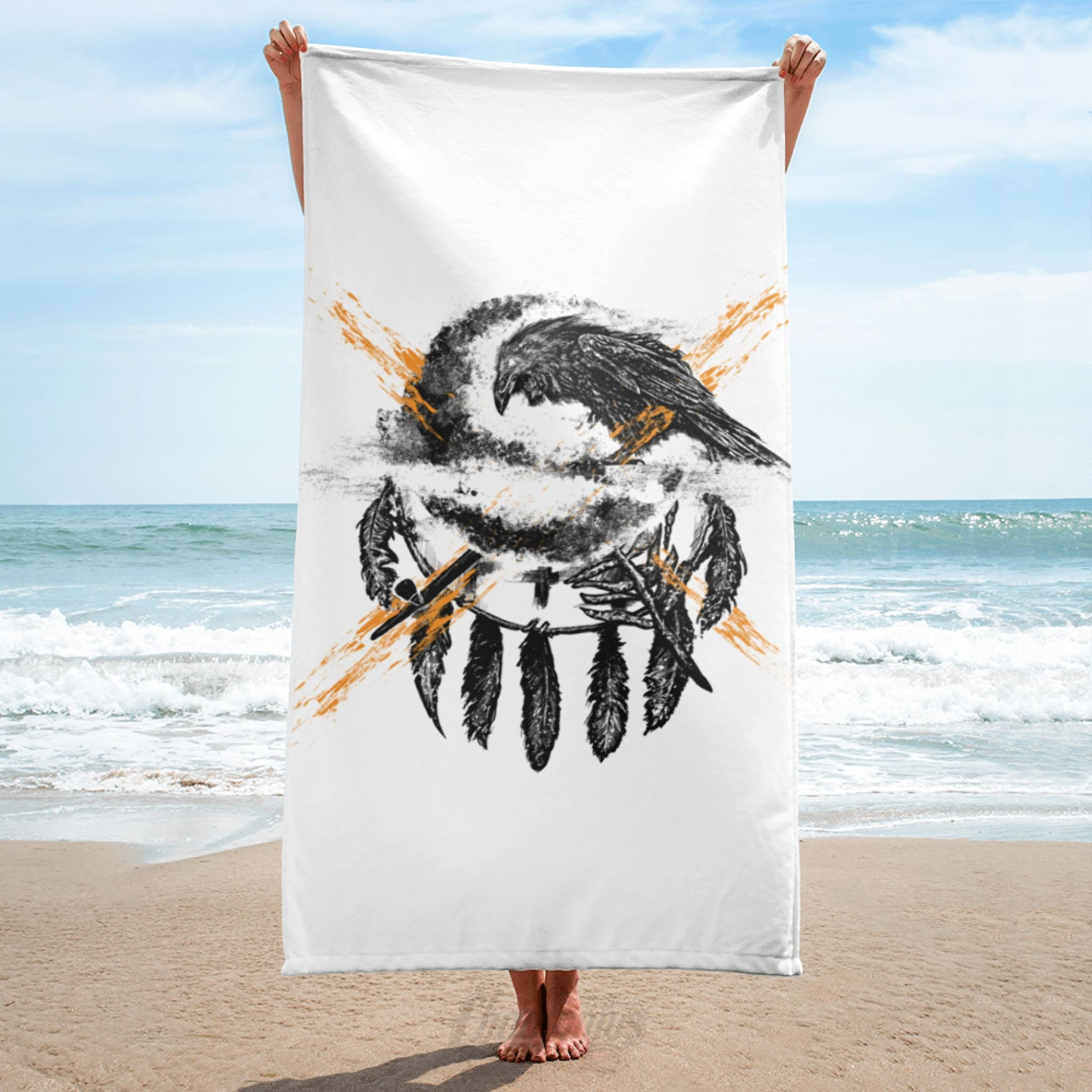 THE CROW - Towel