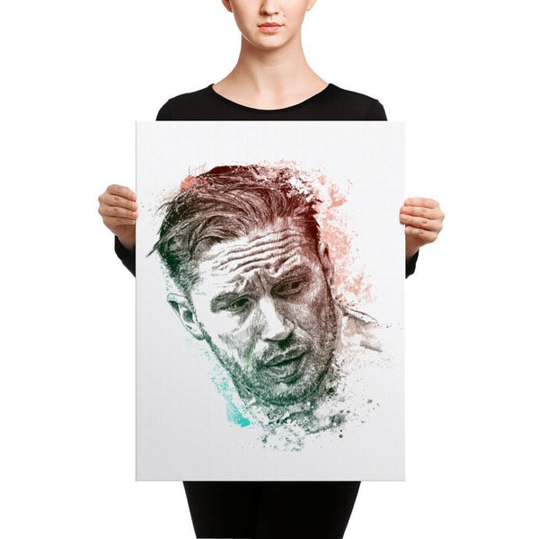 Tom Hardy - Canvas 18×24 Canvas Chadlonius