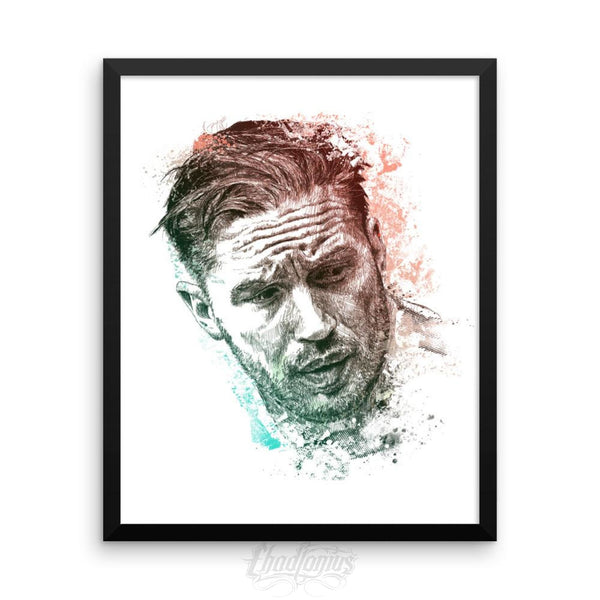 Tom Hardy - Framed Photo Paper Poster 16×20 Framed Chadlonius