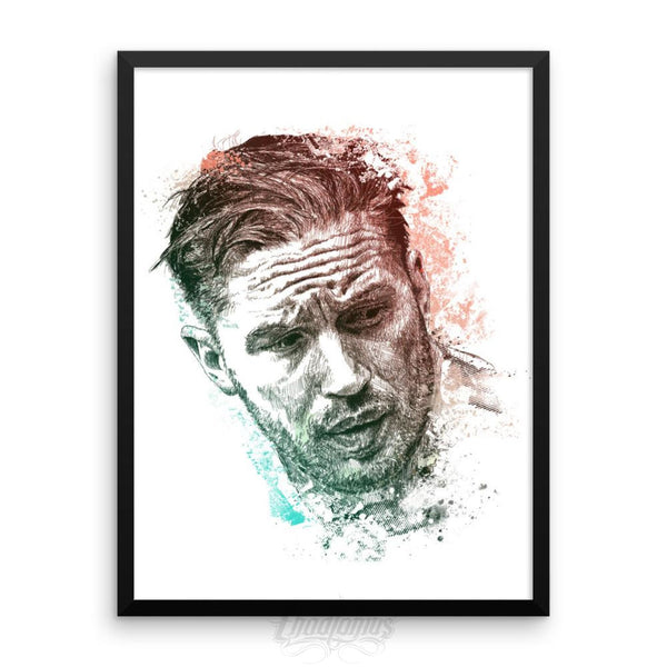 Tom Hardy - Framed Photo Paper Poster 18×24 Framed Chadlonius