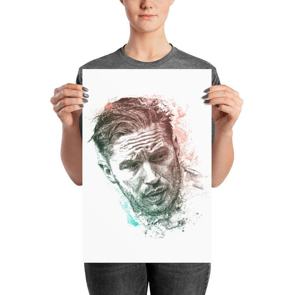 Tom Hardy - Photo Paper Poster 12×18 Photo Chadlonius
