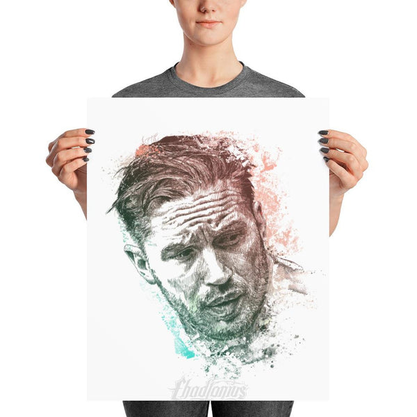 Tom Hardy - Photo Paper Poster 16×20 Photo Chadlonius