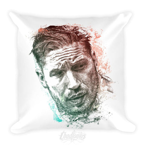 Tom Hardy - Square Pillow Pillow Chadlonius