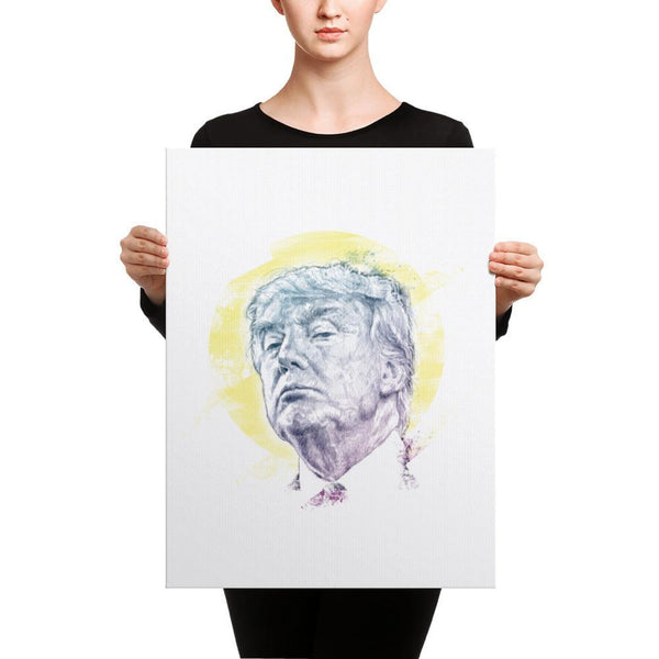 Trump Smug Mug Canvas 18×24 Canvas Chadlonius