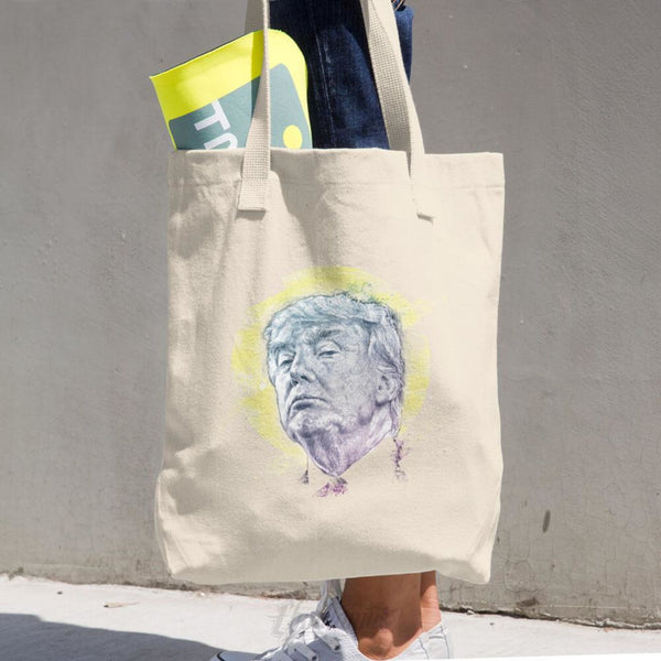 Trump Smug Mug Cotton Tote Bag Tote Bags Chadlonius