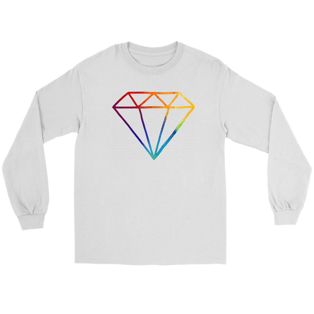 Diamond Long Sleeve Tee