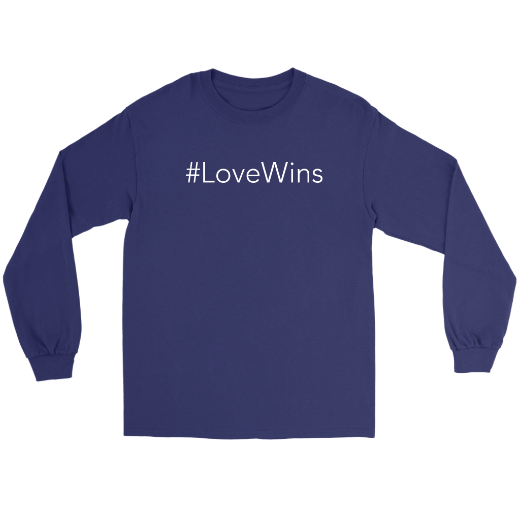 #LoveWins Long Sleeve Tee