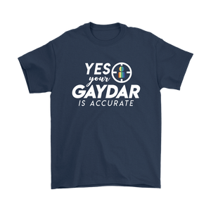 Accurate Gaydar Mens T-shirt