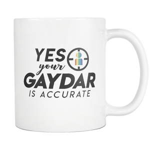 Accurate Gaydar Mug