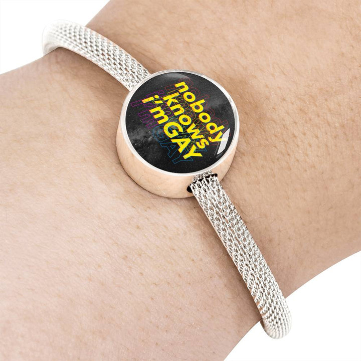 Nobody Knows Luxury Steel Bracelet
