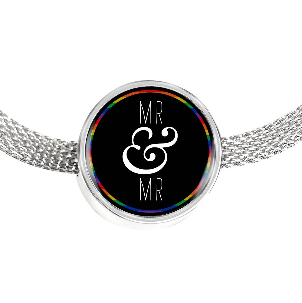 Mr & Mr Luxury Steel Bracelet