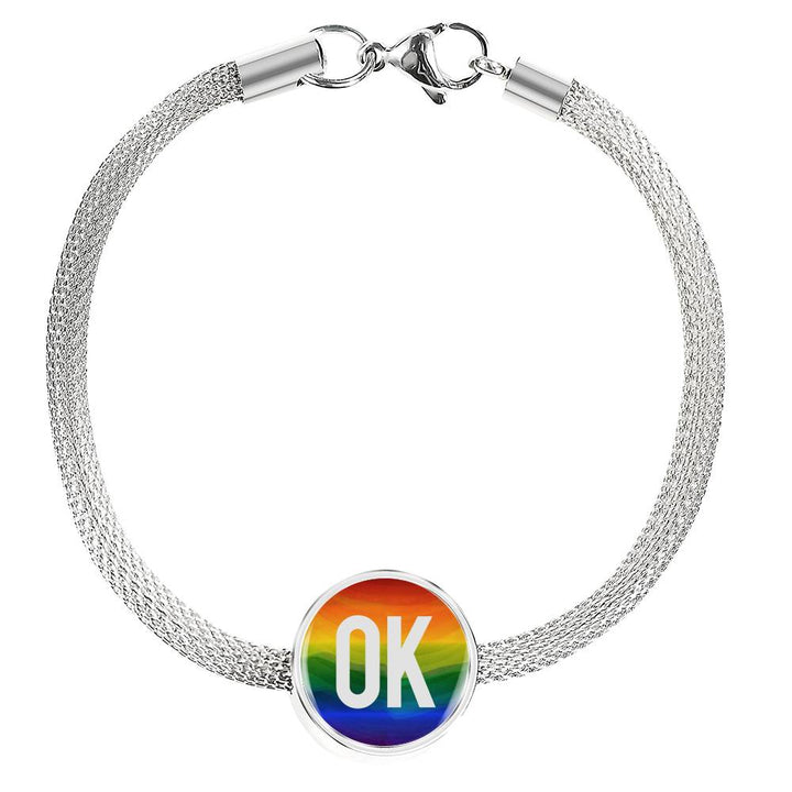 OK Luxury Steel Bracelet