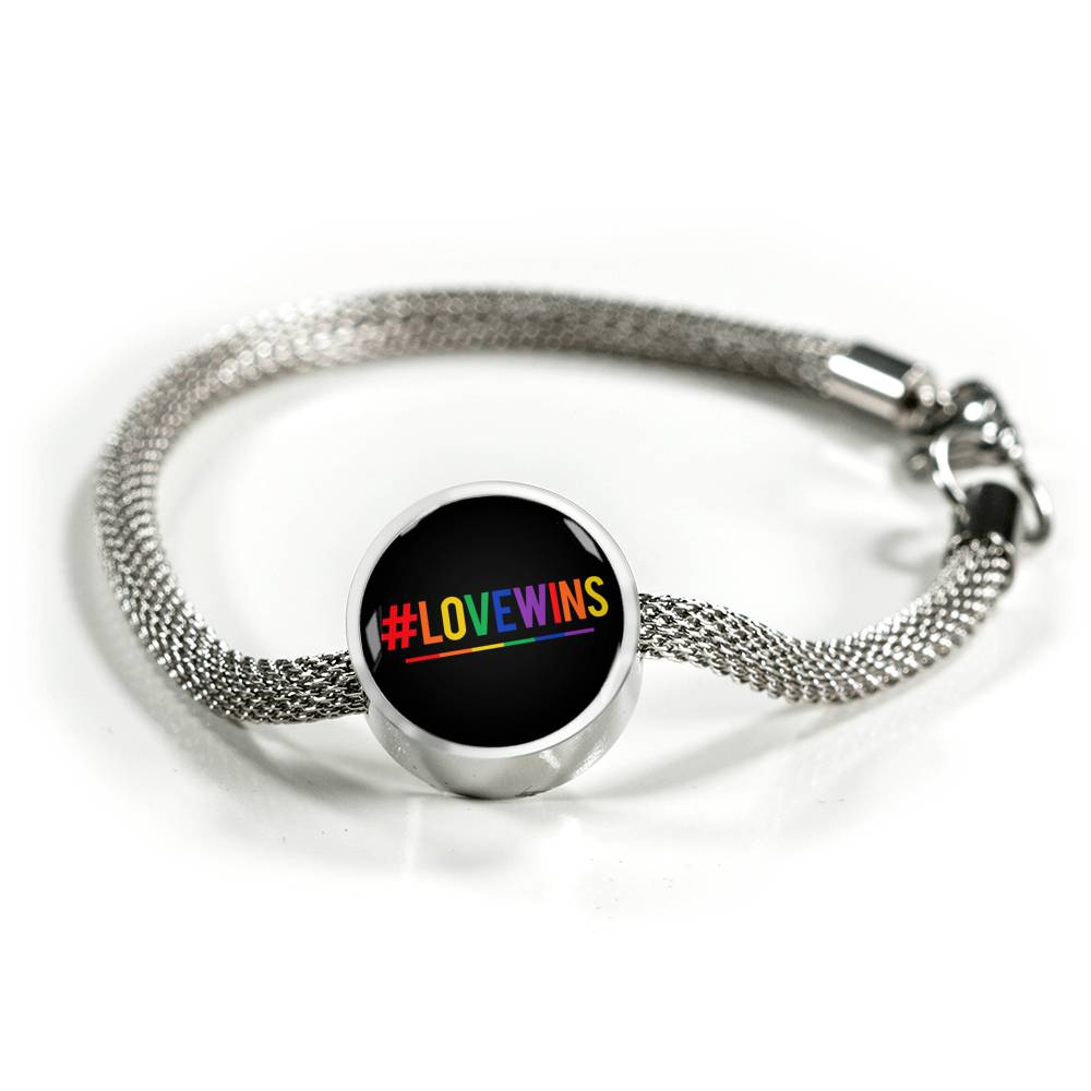 #Lovewins II - Luxury Steel Bracelet