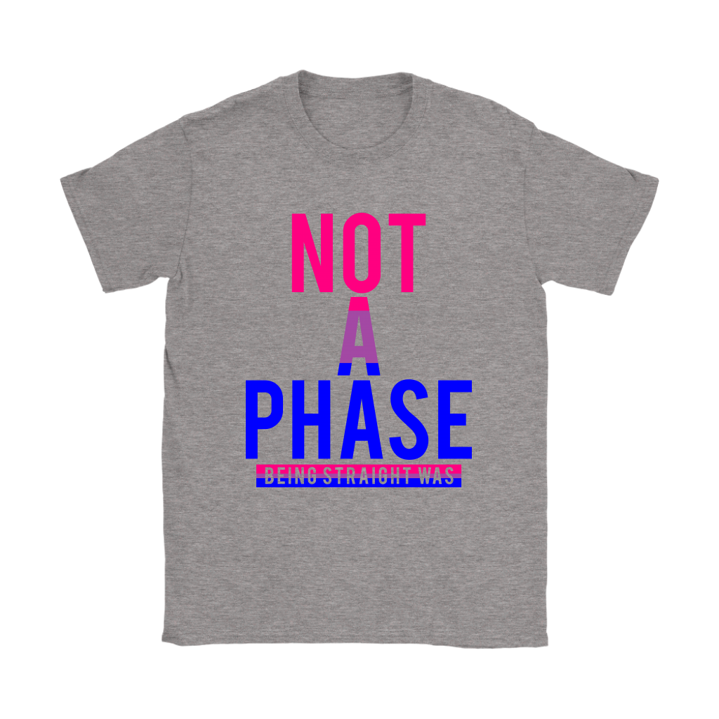 Not A Phase Womens Tee