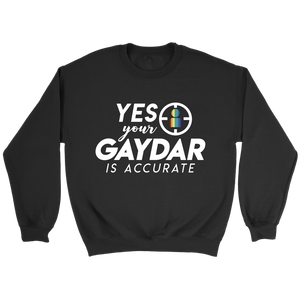 Accurate Gaydar Sweatshirt