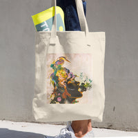 Flamingo in Nature Shopping Bag Mauritius