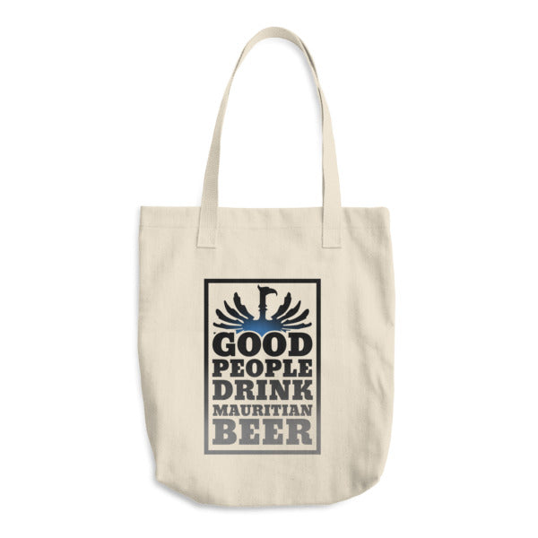 Good People Drink Mauritian Beer - Souvenir Shopping Tote Bag