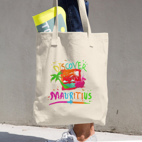 Discover Mauritius Tote Bag/Shopping Souvenir Bag