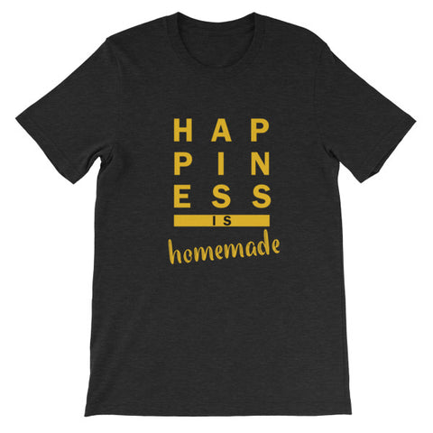 Happiness Is Homemade, Cooking, Arts and Crafts TShirt