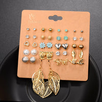20 Pairs Stud Earrings