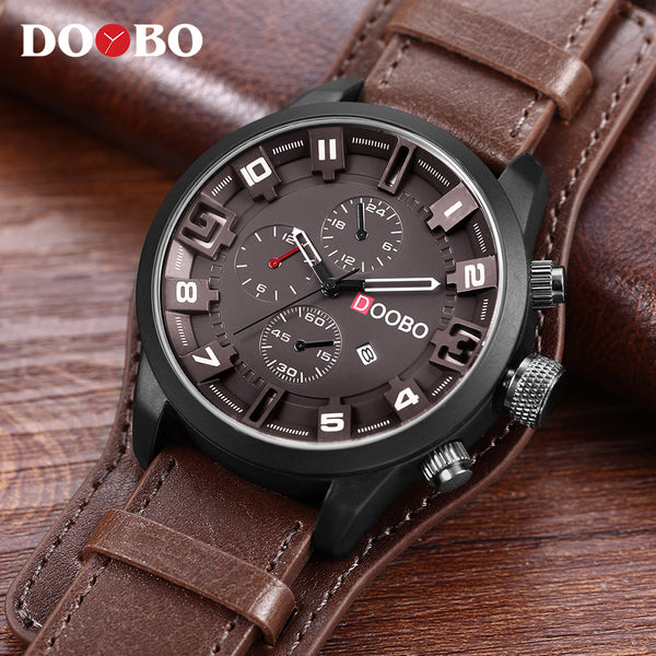 DOOBO Men's Casual Sport Watch