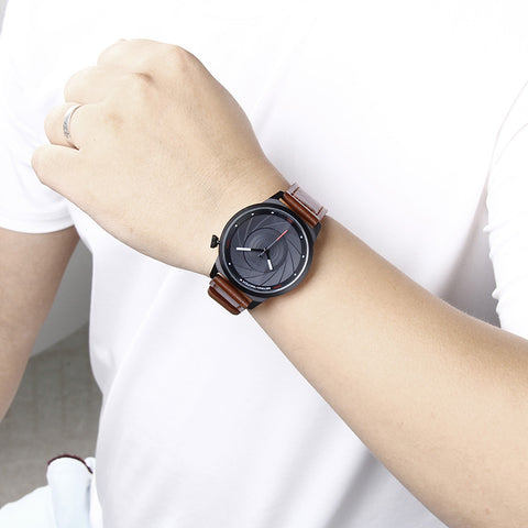 Camera Lens Wristwatches