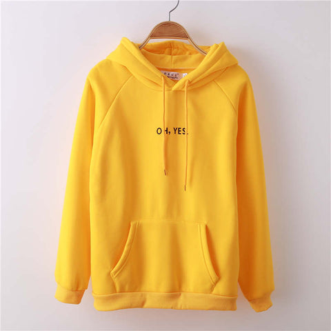 Oh Yes! Hoodies Sweatshirt