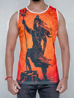 Mighty Lord Shiva - Full Poly Tank Top
