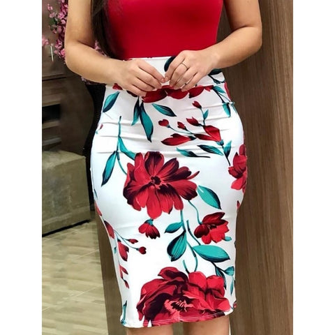 Elegant Floral Summer Dress 2019