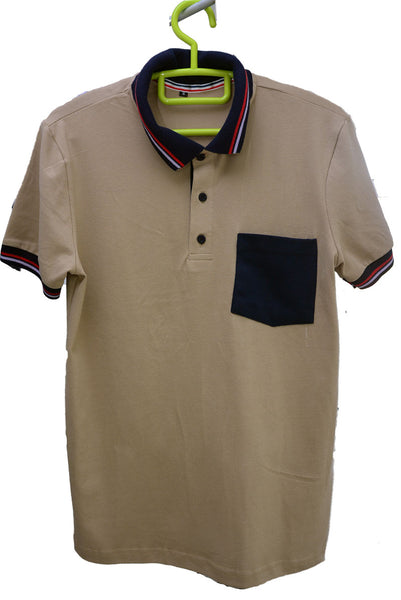 Polo-Shirt-Brown-Mauritius-Shopping