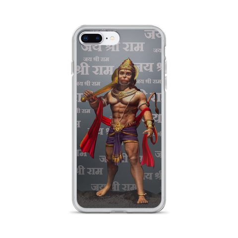 Jai Shree Ram Lord Hanuman iPhone Case