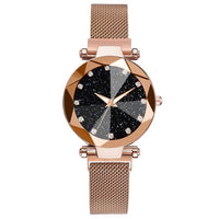 Luxury Starry Sky Stainless Steel Watch