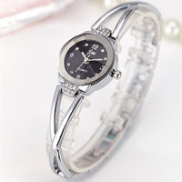 Rhinestone Stainless Steel Quartz watch