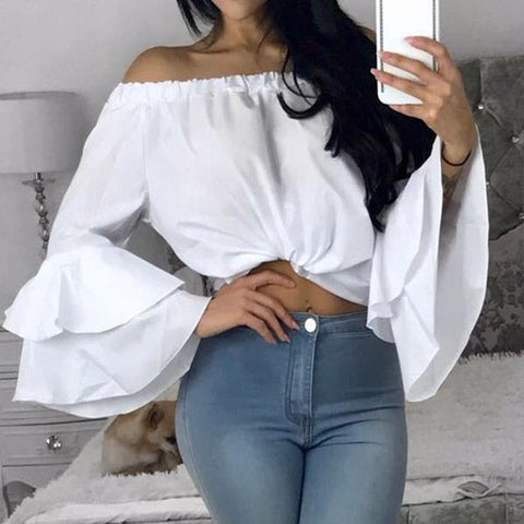 Sexy Off Shoulder Tops