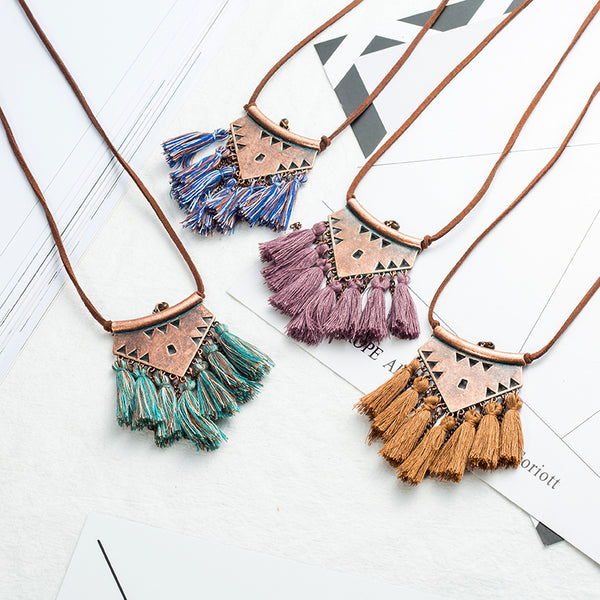 Long tassel Pendant