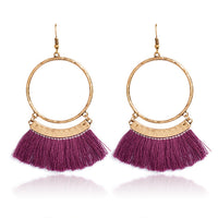Bohemia Tassel Drop Earrings