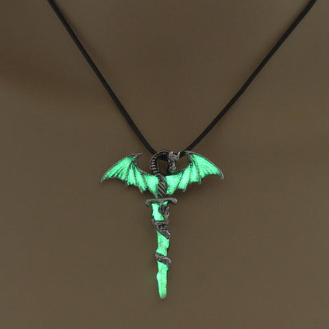 Luminous Sword Dragon necklace