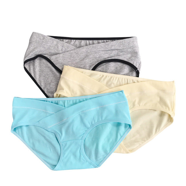 3Pcs Cotton Maternity Underwear