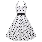 Polka Dot Party/Evening Elegant Dress