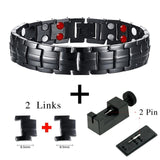 Healthy Energy Magnet Bracelet Stainless Steel
