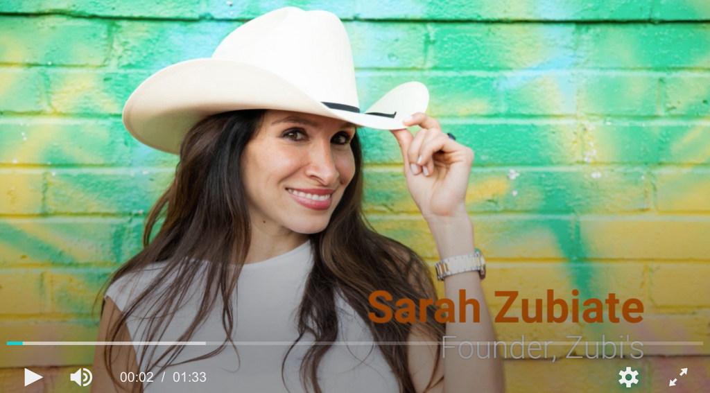 A message from Sarah - The Future is bright for Zubi's