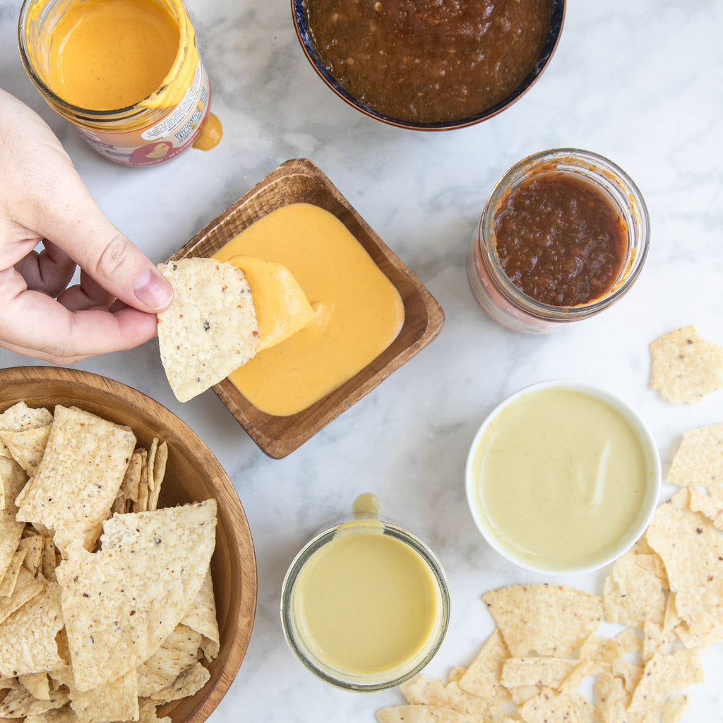 3 Pack ZUBI'S Dairy Free Queso (16 oz jars)