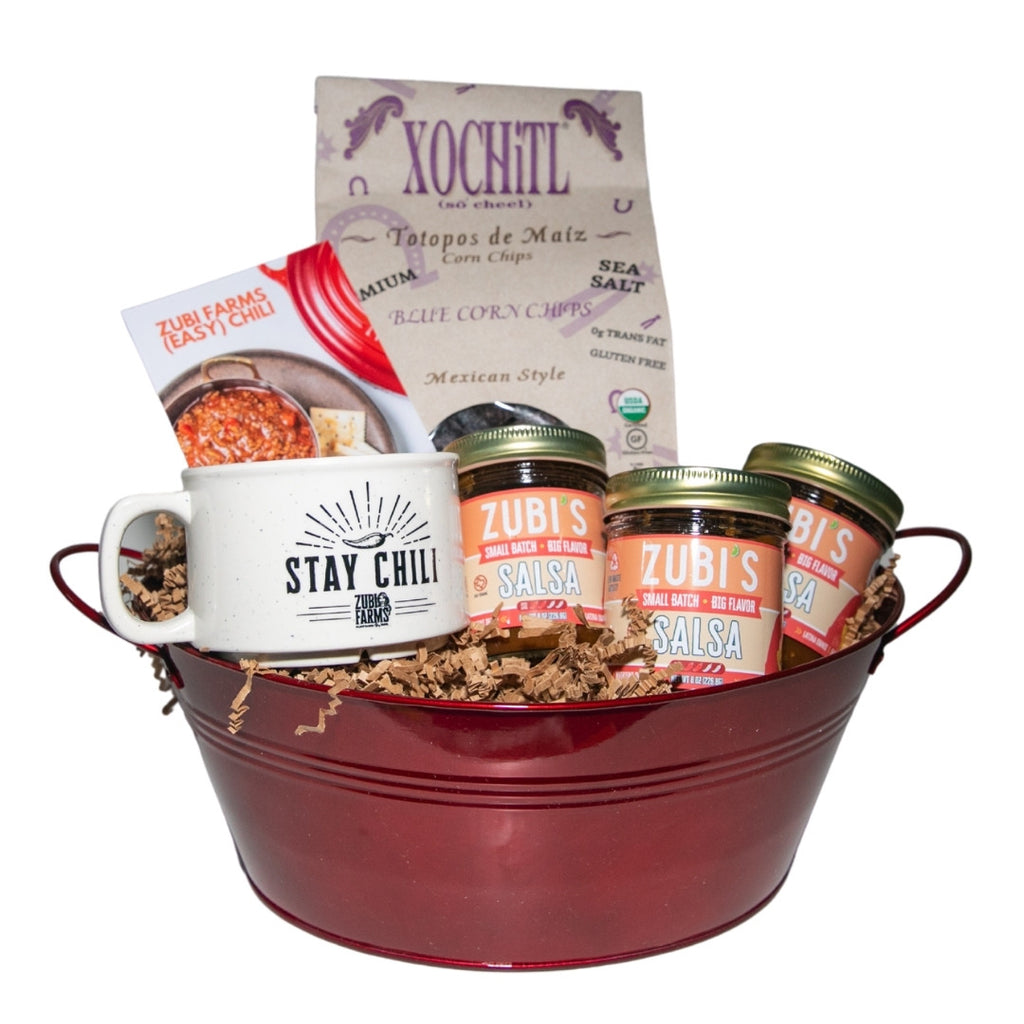 ZUBI'S Stay Chili Basket (8oz)