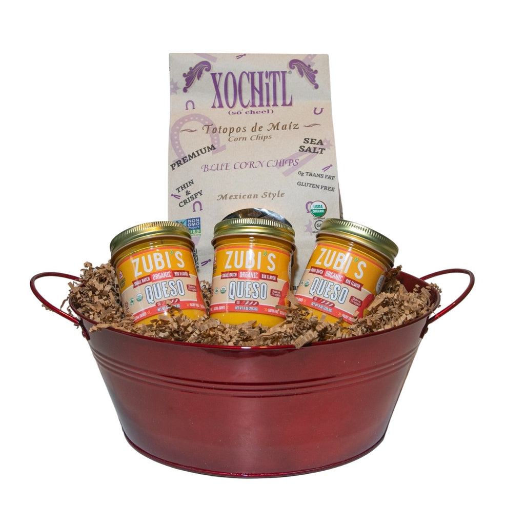 ZUBI'S 3 Pack Dairy Free Queso Basket (8oz)