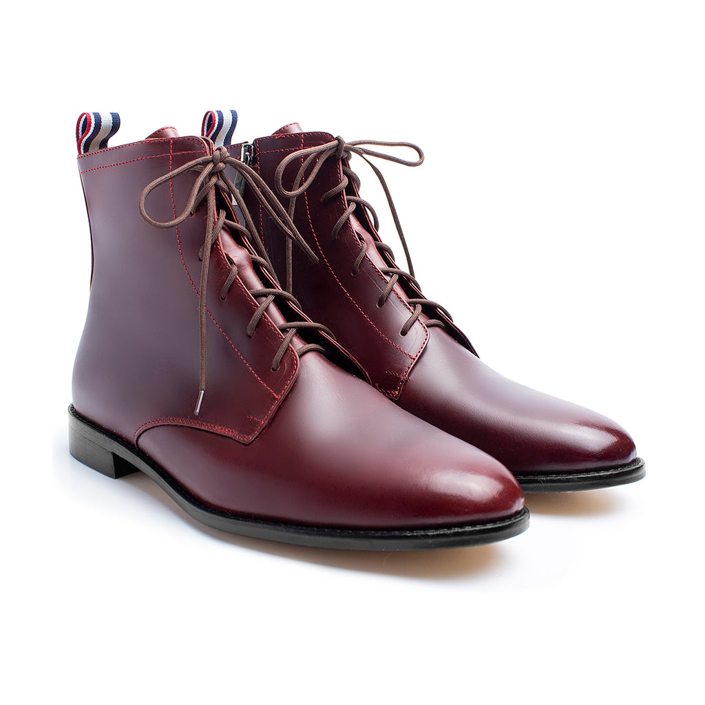 Bota Oxford Vino