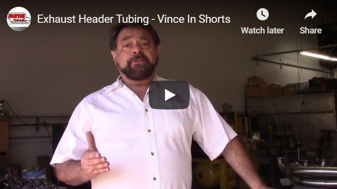 Exhaust Header Tubing - Vince In Shorts 3