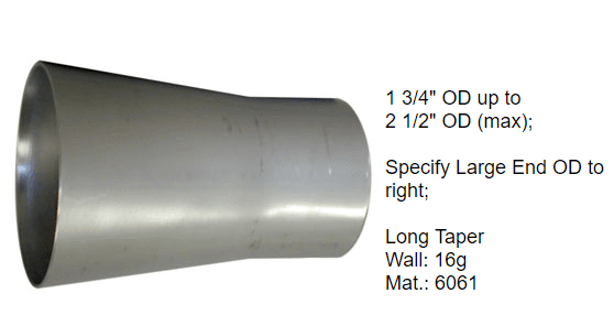 Aluminum transition for intake and cooling systems