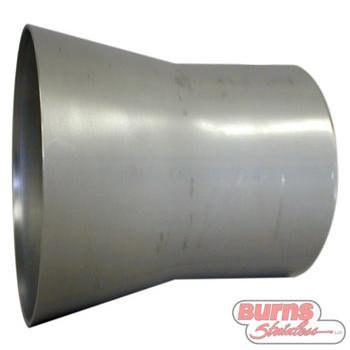 321 stainless steel transitions for intake and cooling systems