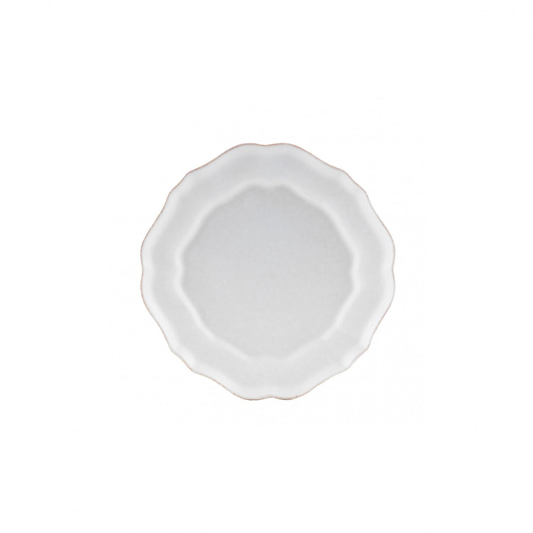 Salad Plate Impressions-white